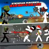 Stickman maverick : bad boys killer